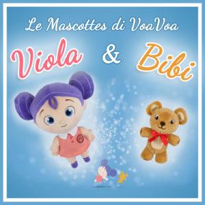 Viola & Bibi, le Mascottes di Voa Voa! Onlus